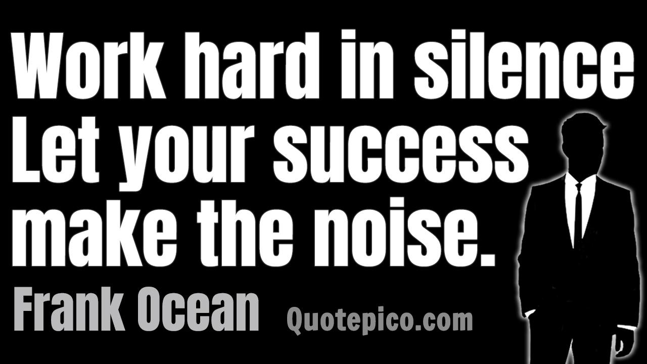 [Image] My PC wallpaper- Work hard in silence