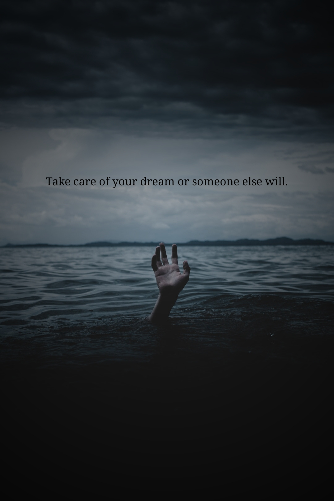[IMAGE] DREAMS COME TRUE, IT WILL BE SOMEONE ELSE IF NOT YOU.