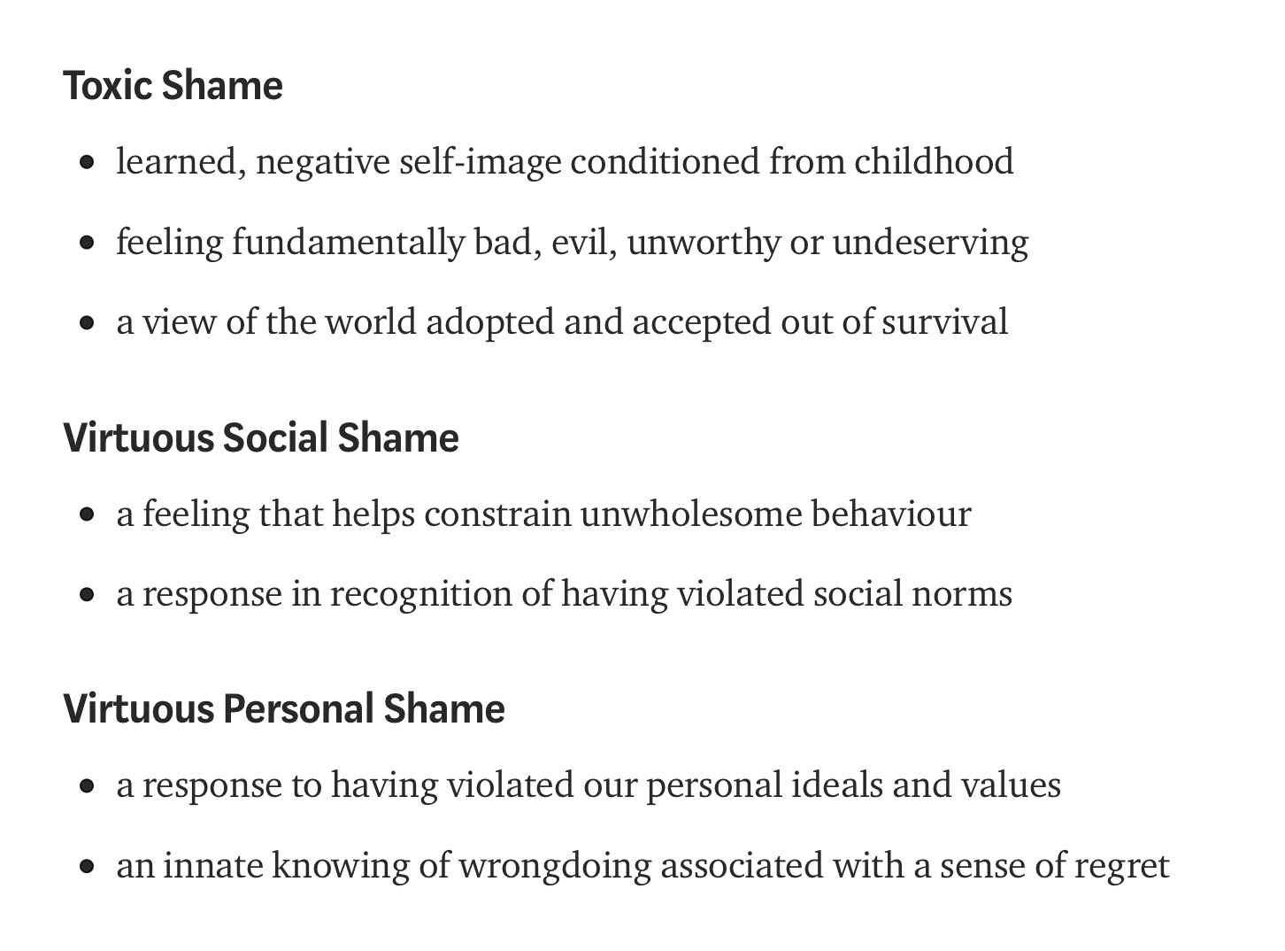 [Image] Decode your shame, it's not all bad! Shame boils down to comparison. Comparing oneself to others, or to an imaginary ideal. Shame is trying to take responsibility for other people's emotional experiences or blaming yourself for feeling overwhelmed by difficult emotions.