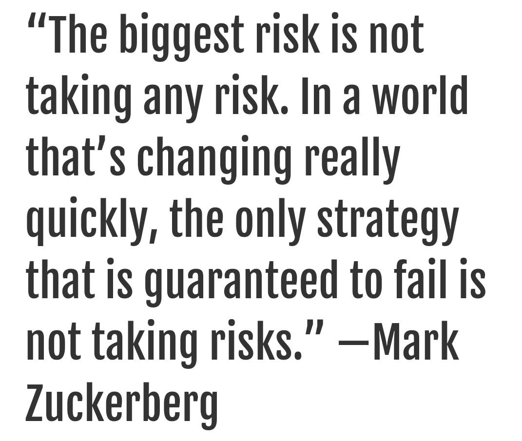 [image] the biggest risk in the world