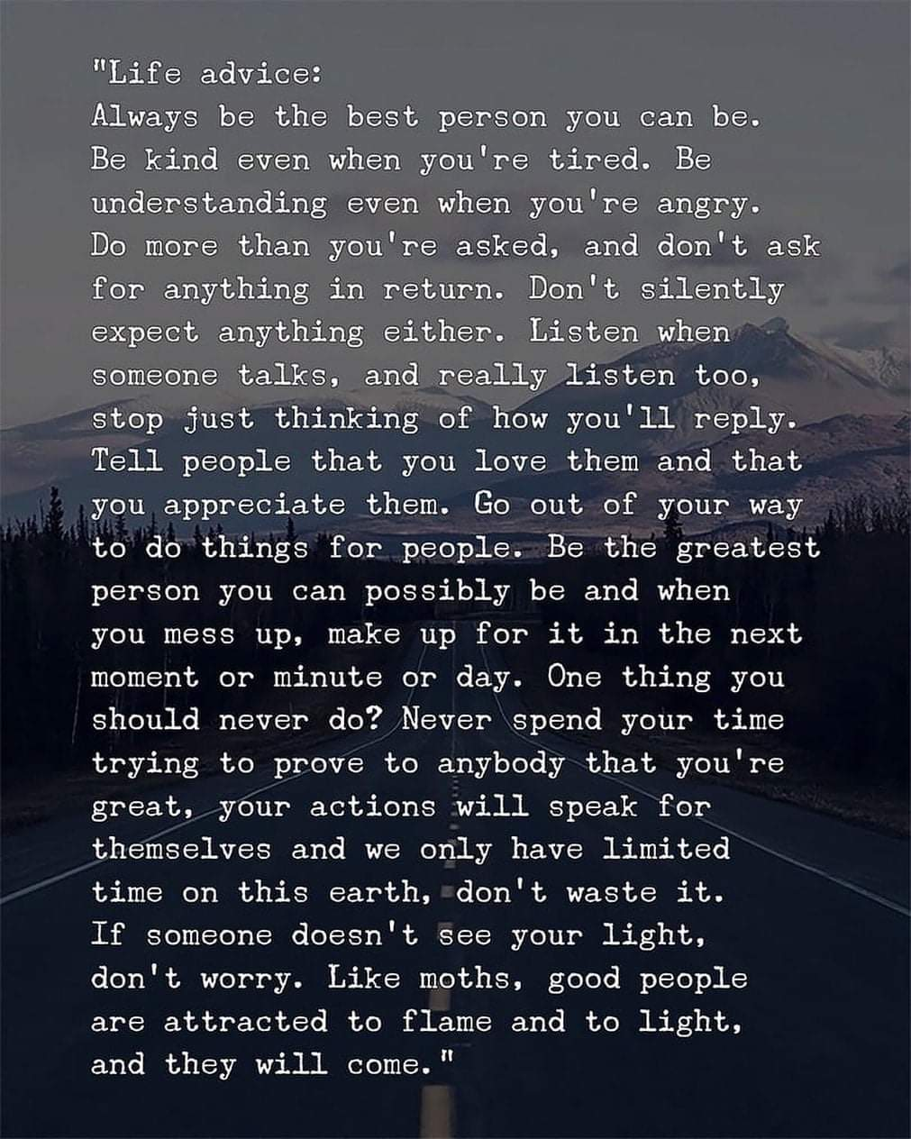 [Image] Always be the best person you can be!