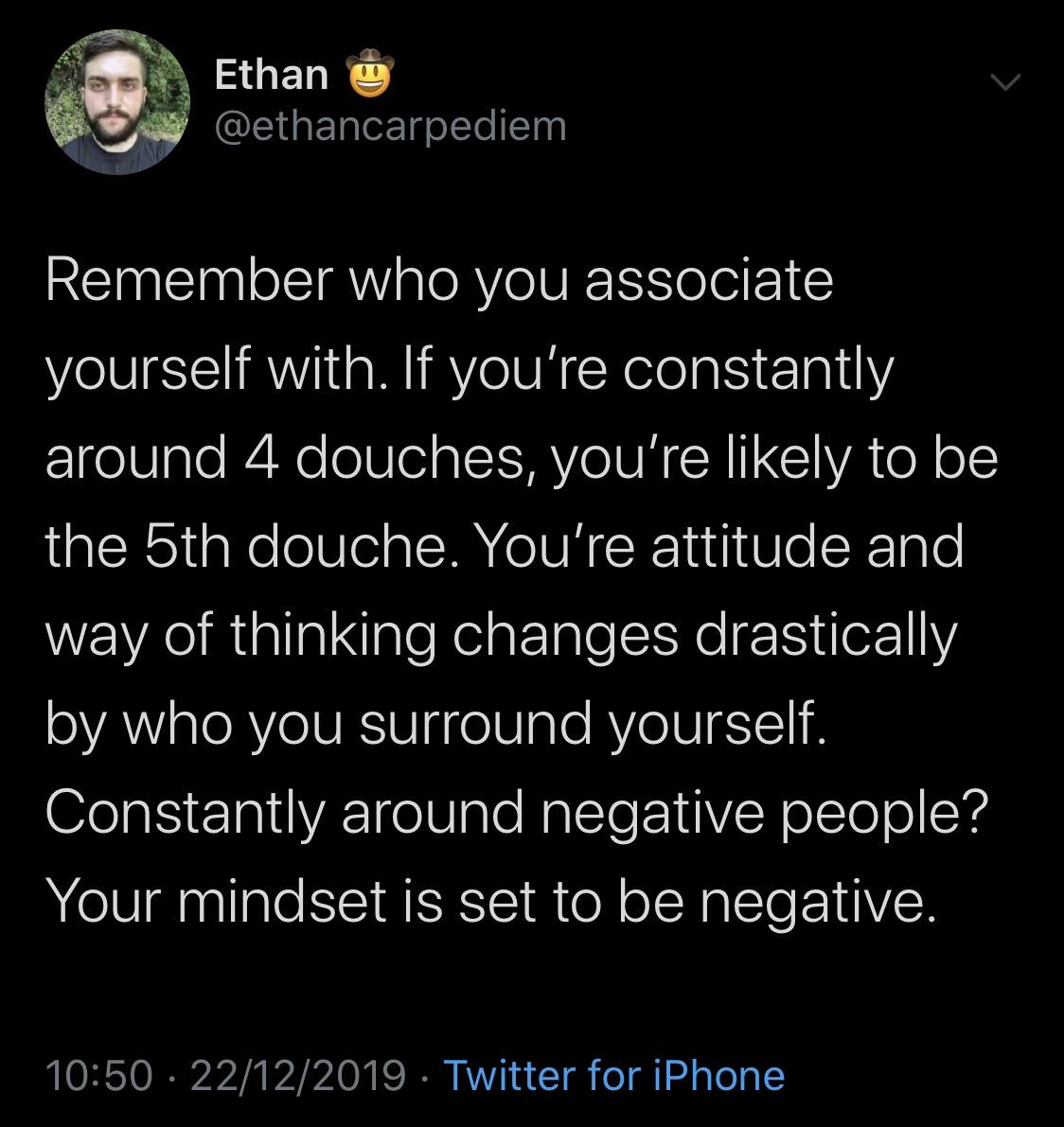 [Image] Surround yourself with positive people