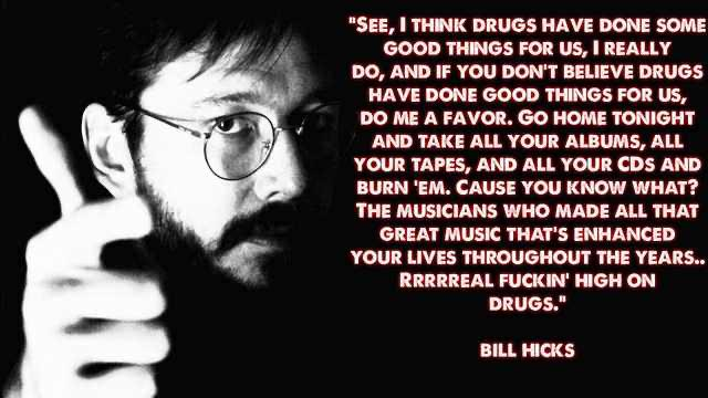 """Go home tonight and take all your albums, all your tapes, and all your CDs and burn 'em""-Bill Hicks [800×1200]"