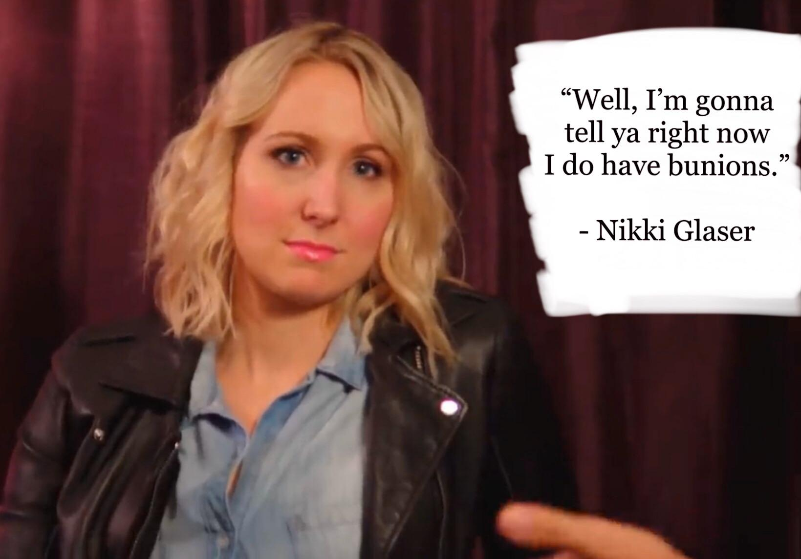 """Well, I'm gonna tell ya right now….."" – Nikki Glaser [1639 x 1145]"