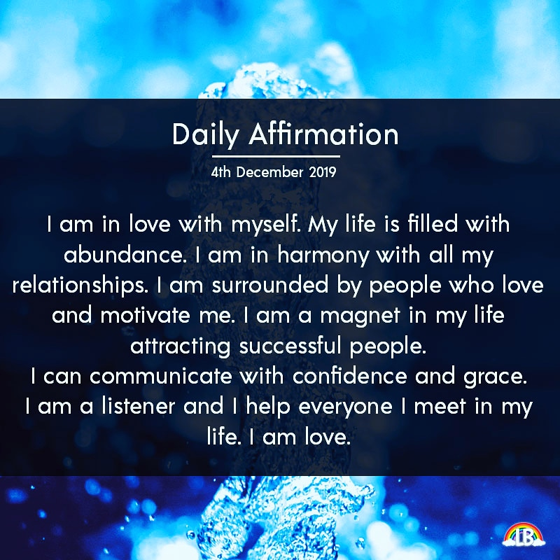 [Image] Daily Affirmation – 4th December 2019