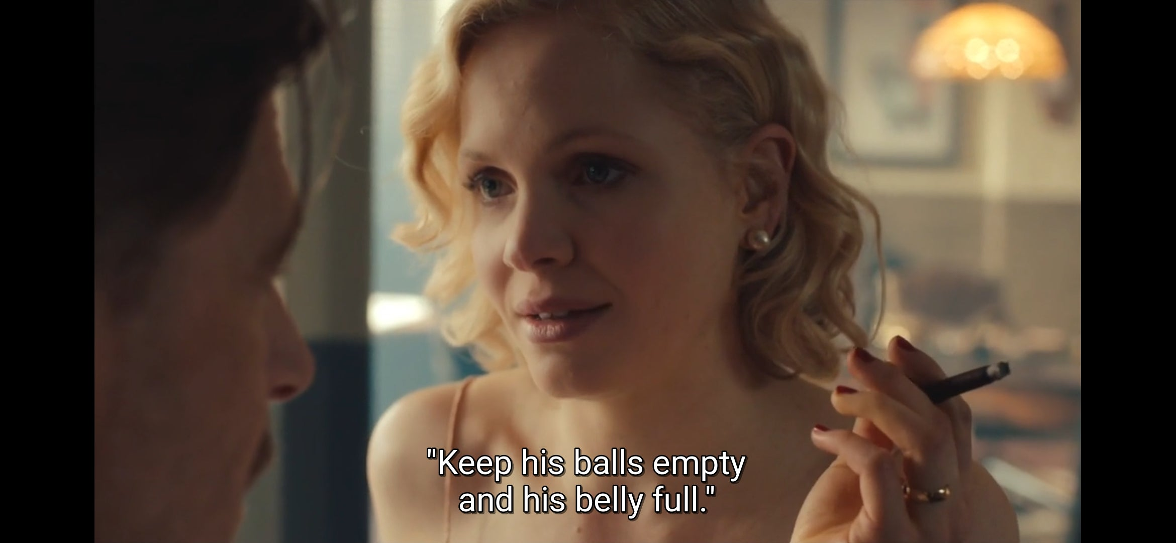 """Keep his balls empty and his belly full.""- Peaky Blinders [2340×1080]"