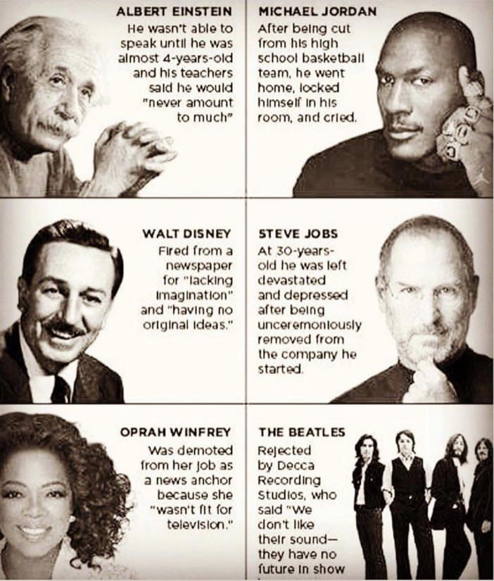 Failure has always been normal and part of success [Image]