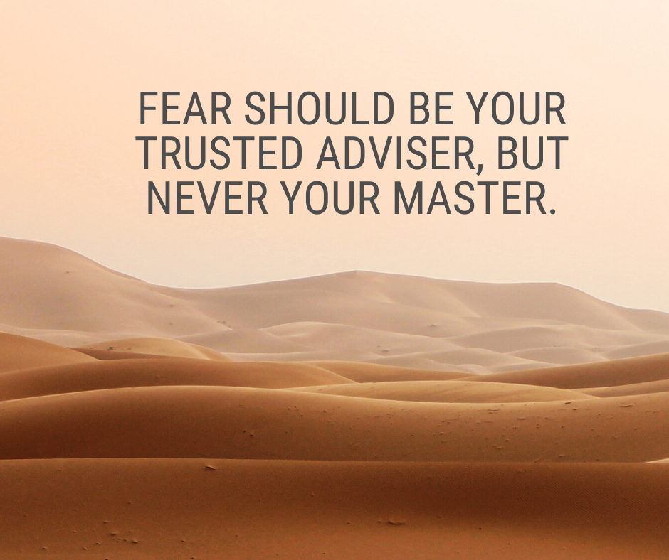 [Image] Listen to your fears