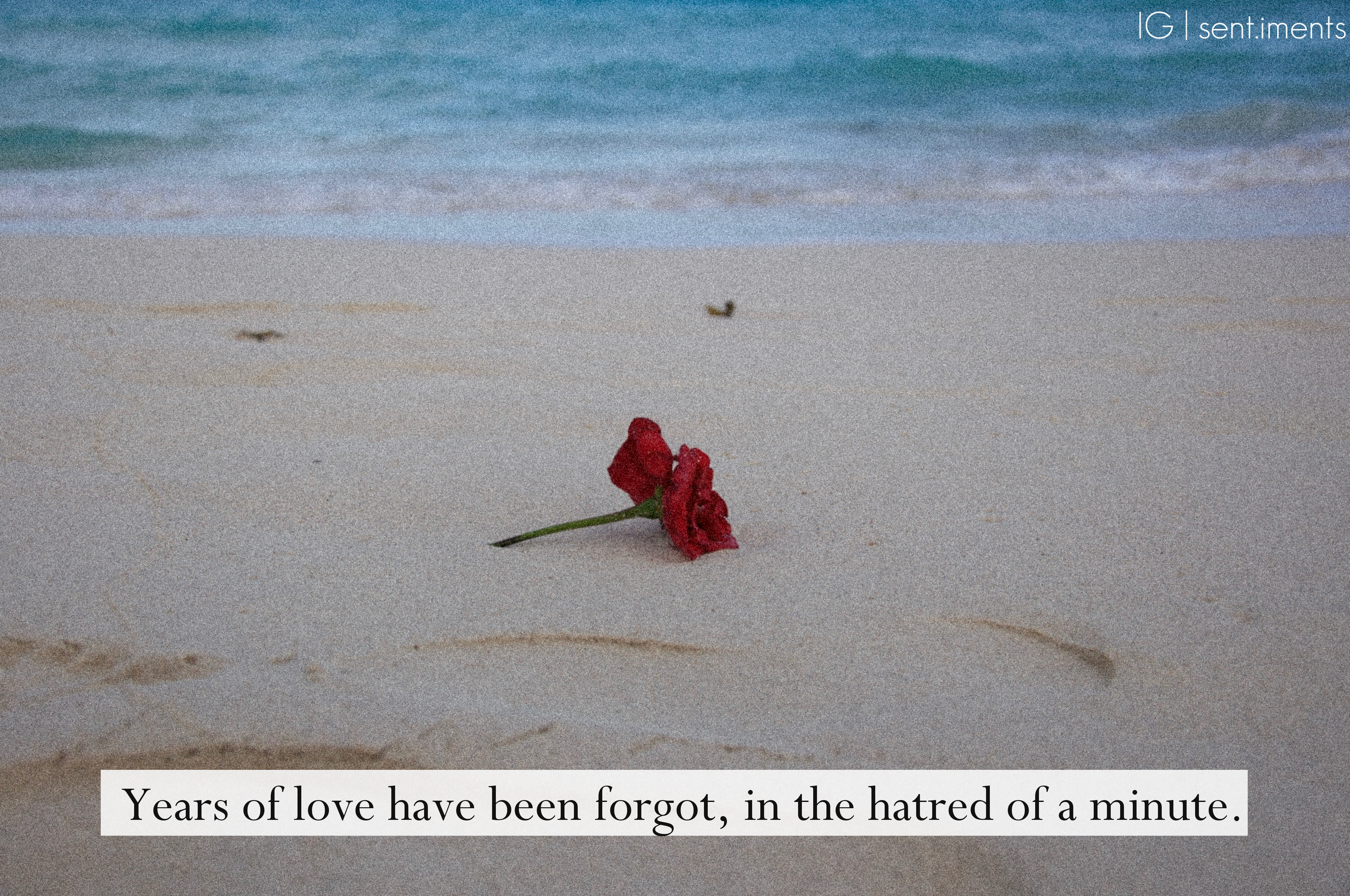 """Years of love have been forgot, in the hatred of a minute"" by Edgar Allan Poe [4288 X 2848]"