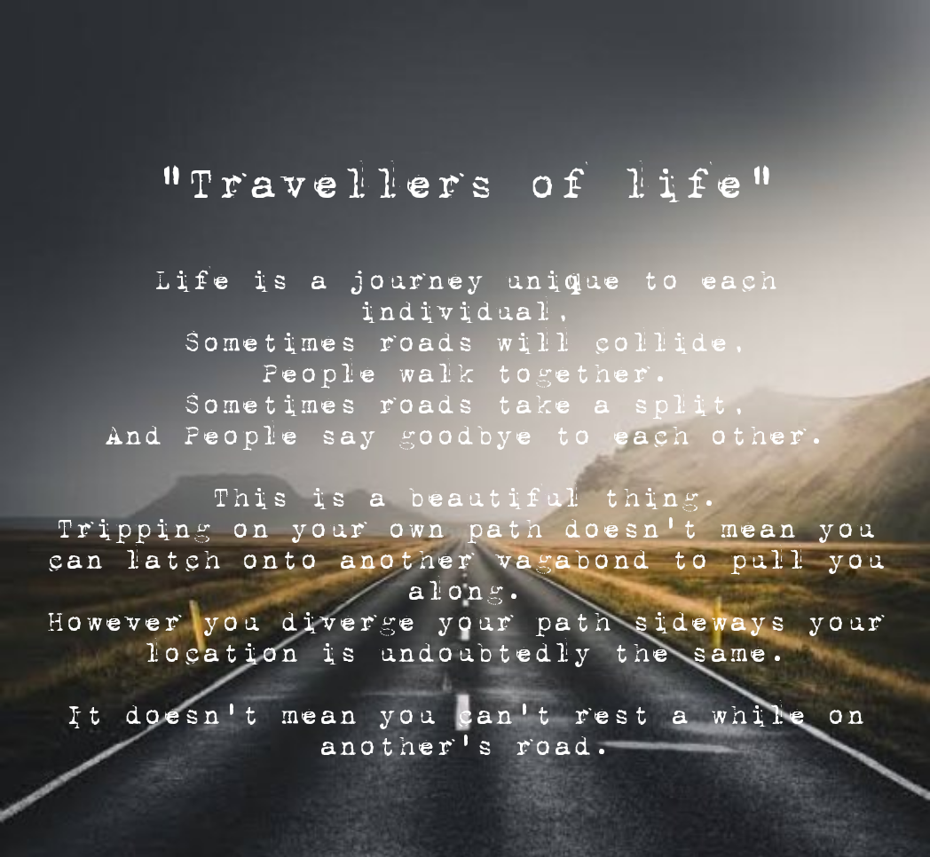 Life is a journey, By Me, *1048×966* *summarizing the most important thing i learnt the past 4 months.*