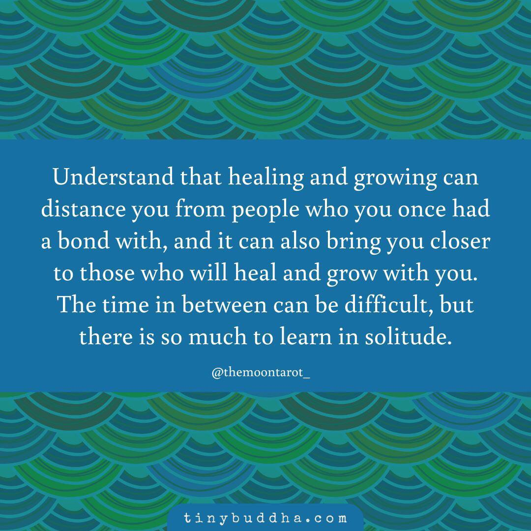[Image] Transitional times in healing can be hard, but they will bring you to a better place with people you will build true, loving, healing connections with.