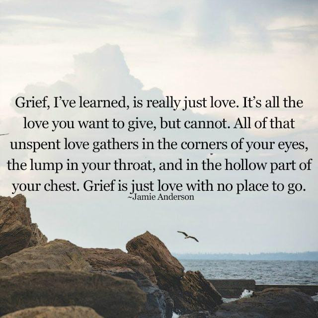 """Grief, I have learned…"" Jamie Anderson [640×640]"