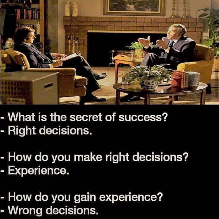 [image] The secret to success