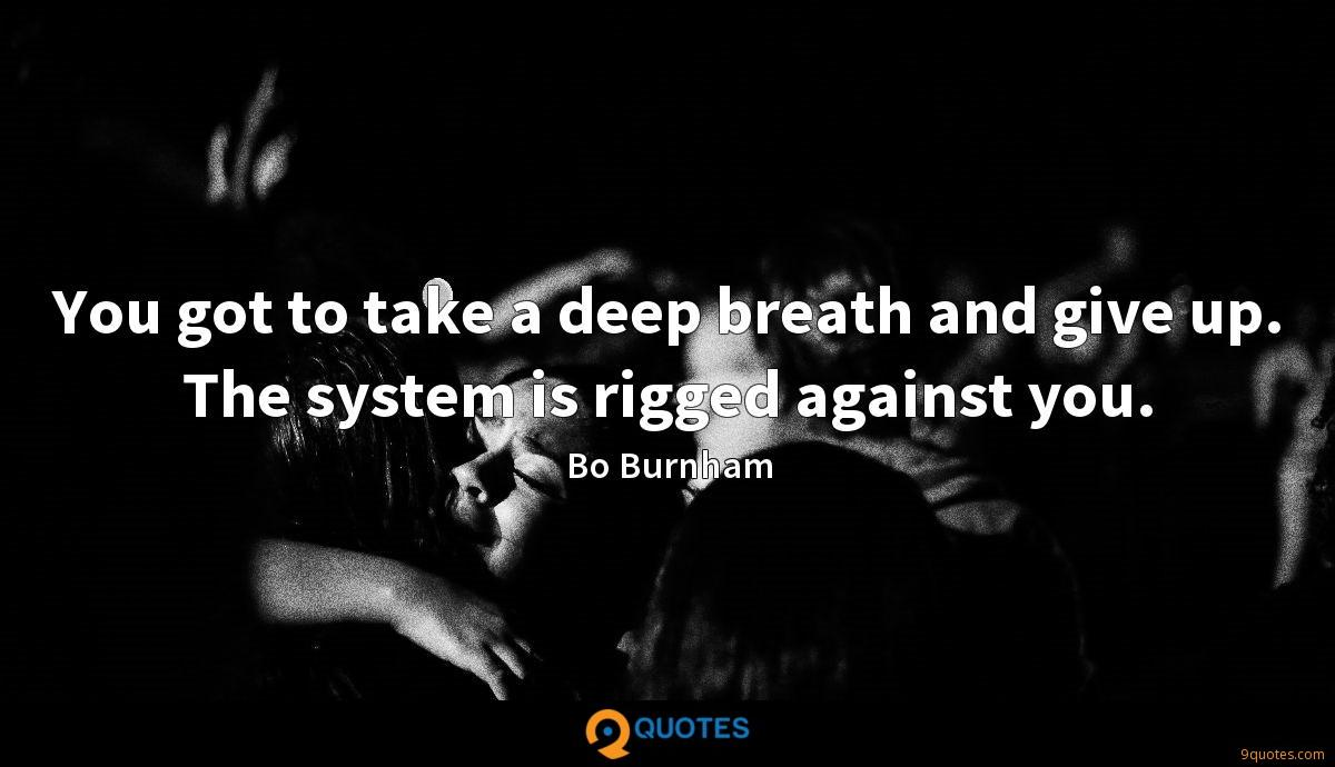 [Image] Bo burnhan advice to young people
