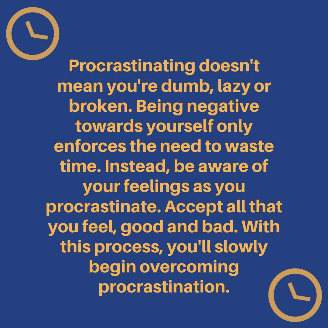 [Image] Overcome wasting time