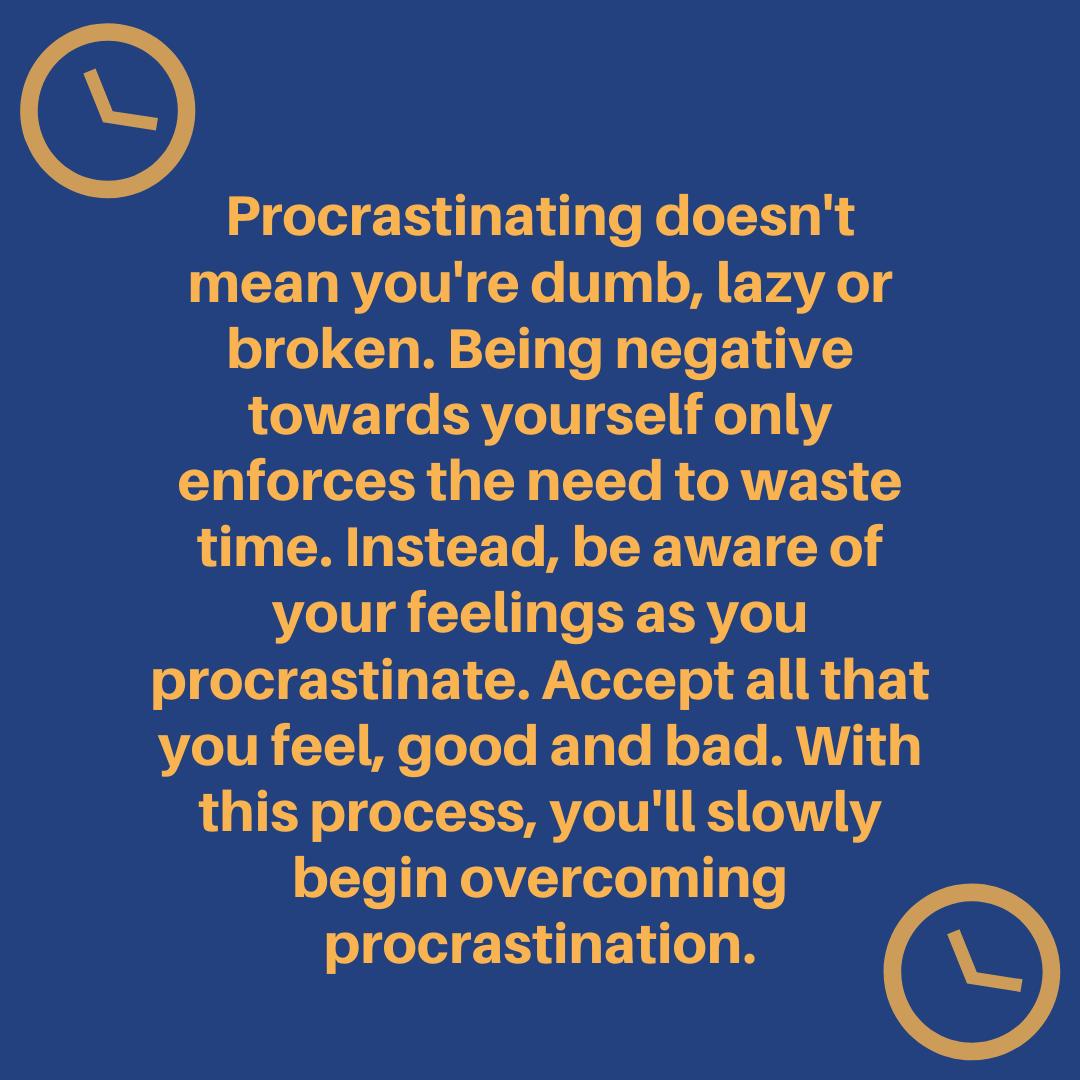 [Image] Overcome wasting time