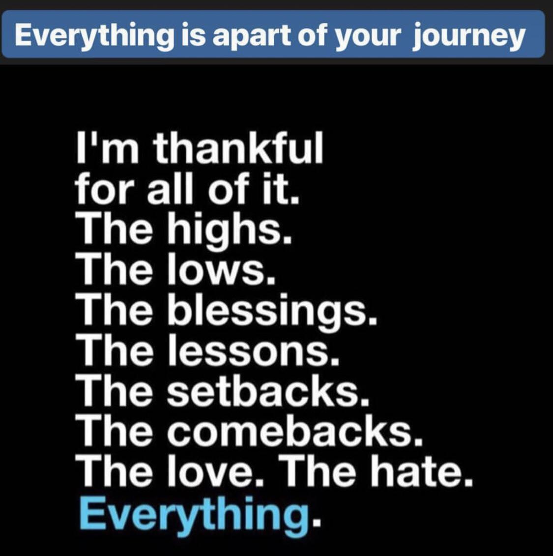 Everything is apart of your journey! [1080×720]