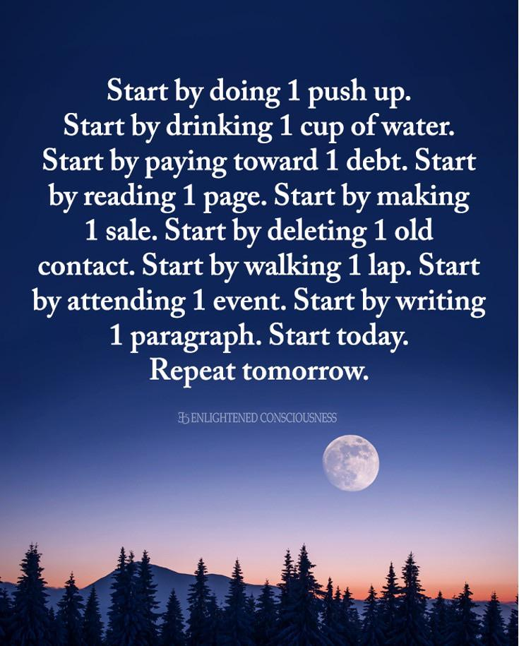 [image] Small steps, every day.
