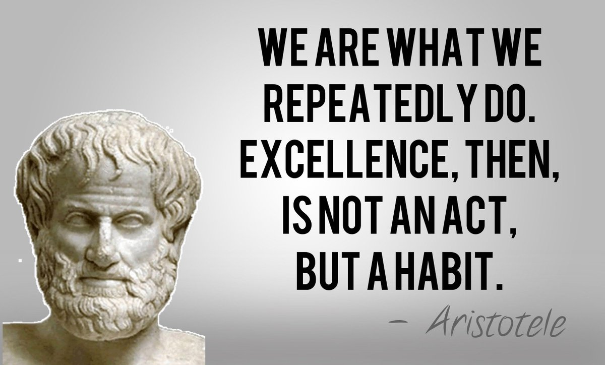 [Image] Excellence is doing ordinary things extraordinarily well