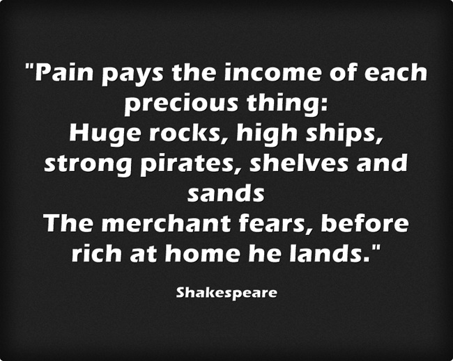 [Image] Shakespeare on pain