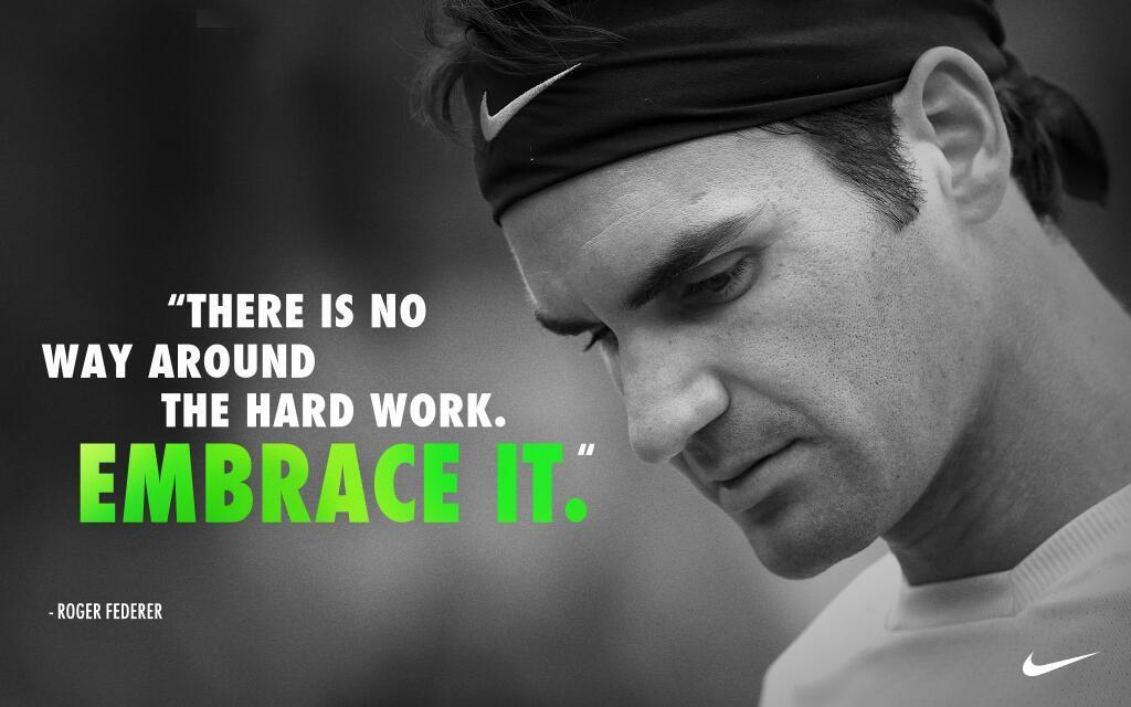 [Image] My favorite quote from Roger Federer