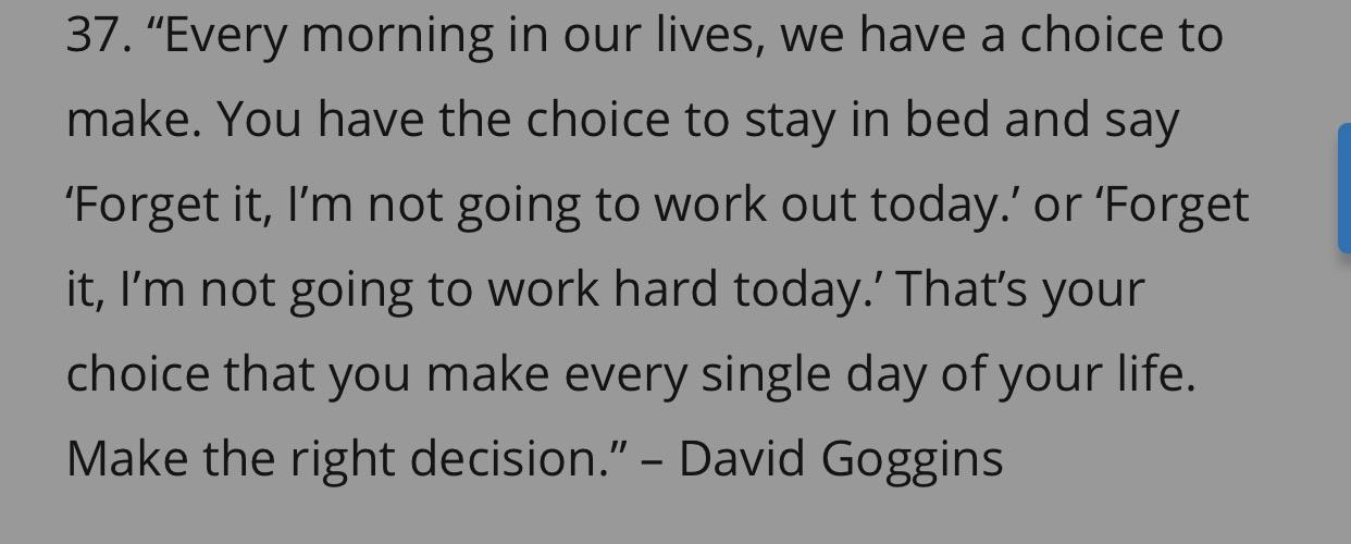 [image] make the right decision every morning.