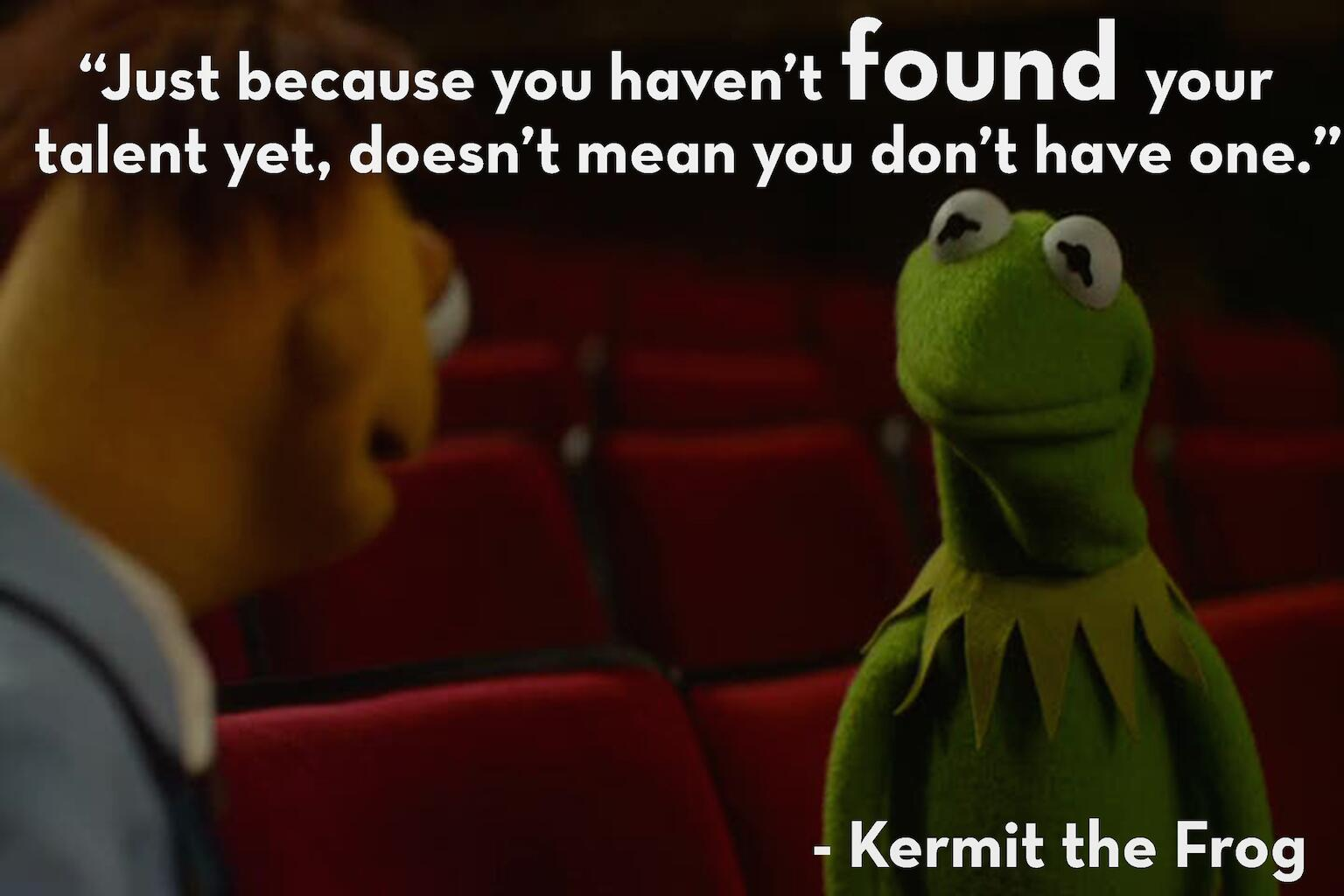 [Image] Kermit speaks the truth