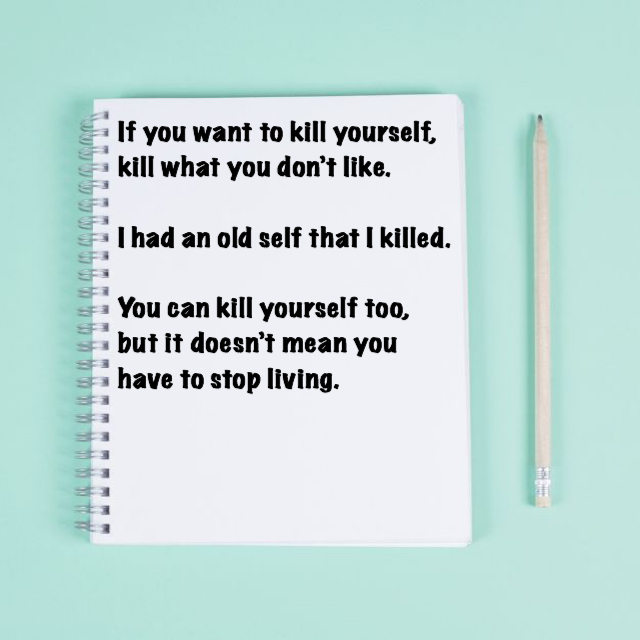 Kill what you don't like. [Image]