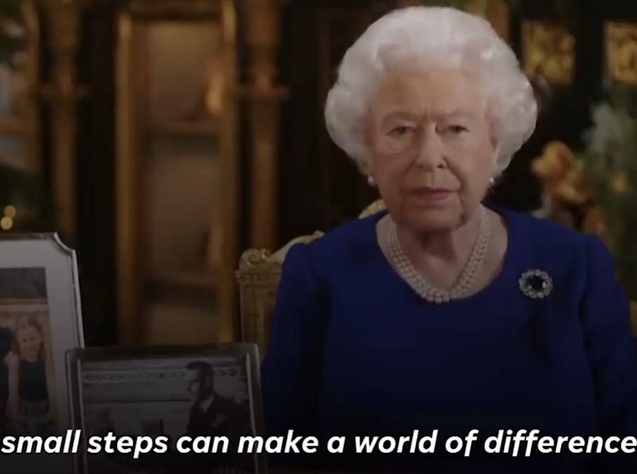 """small steps……"" – Queen Elizabeth [909 x 677]"