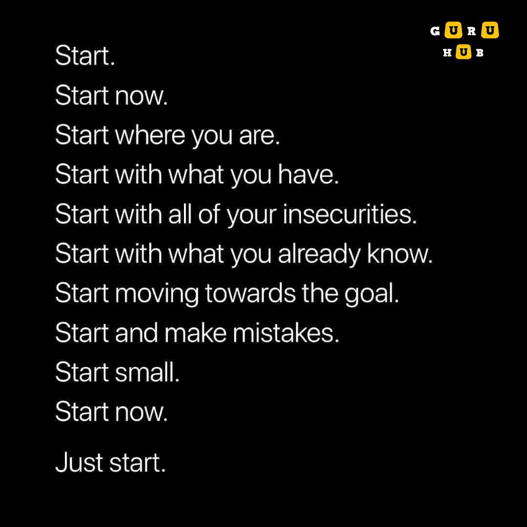 [Image] Start Now …