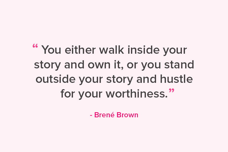 [Image] Own your story.