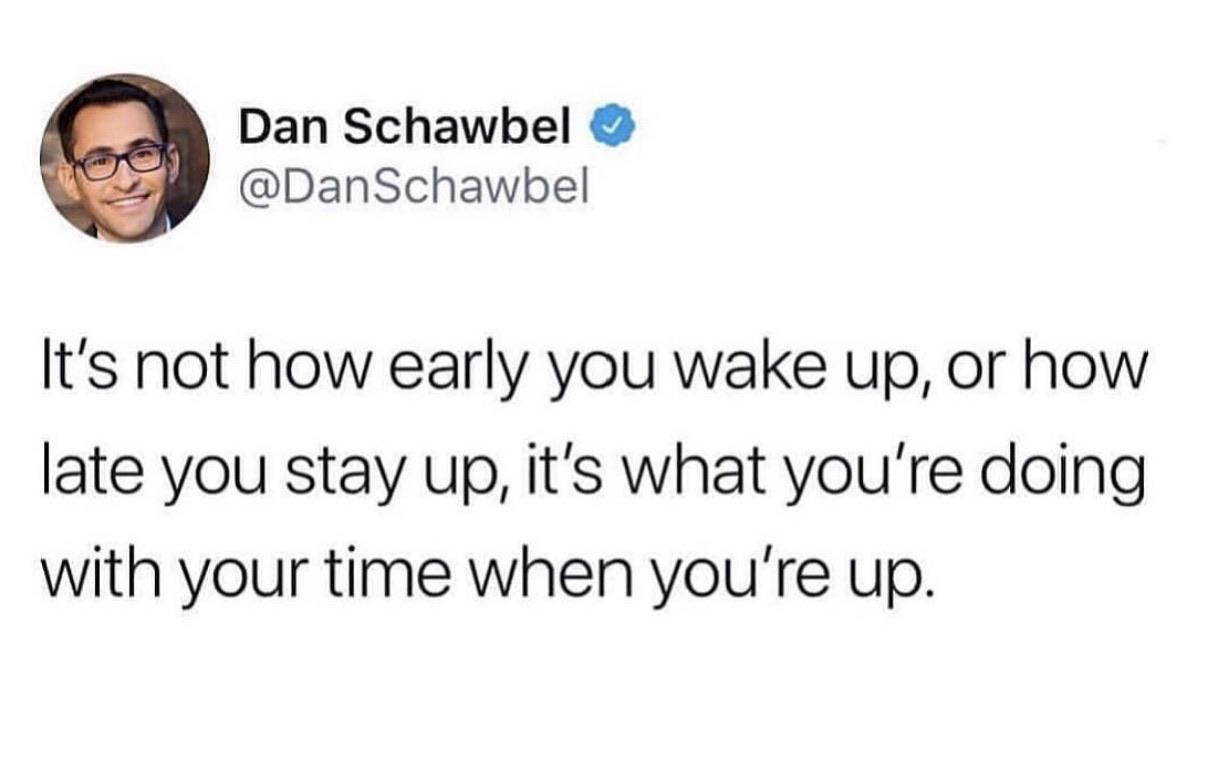 [Image] Make everyday count