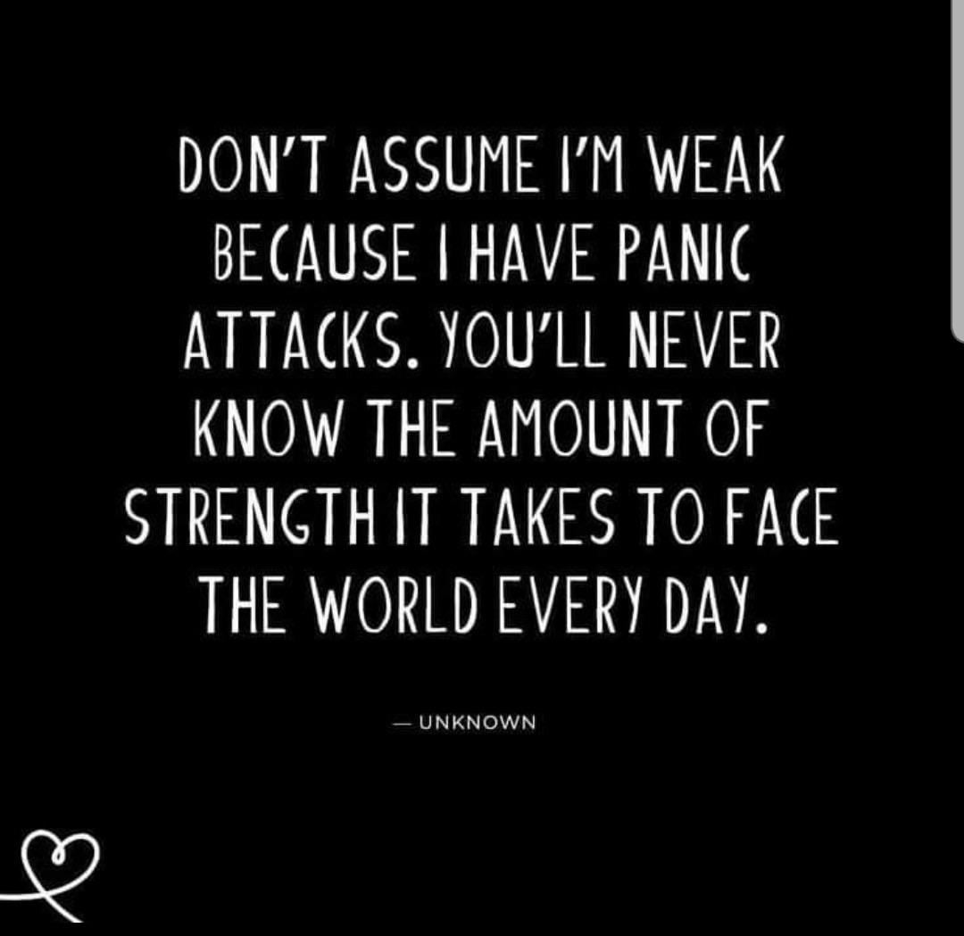 [image] Anxiety is not a weakness.