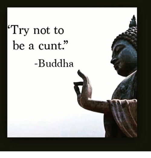 [Image] Buddha said it best…