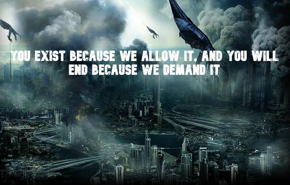 """ You exist because we allow it, and you will end because we demand it""- Soverign, Mass Effect 1 [1000 x 600]"