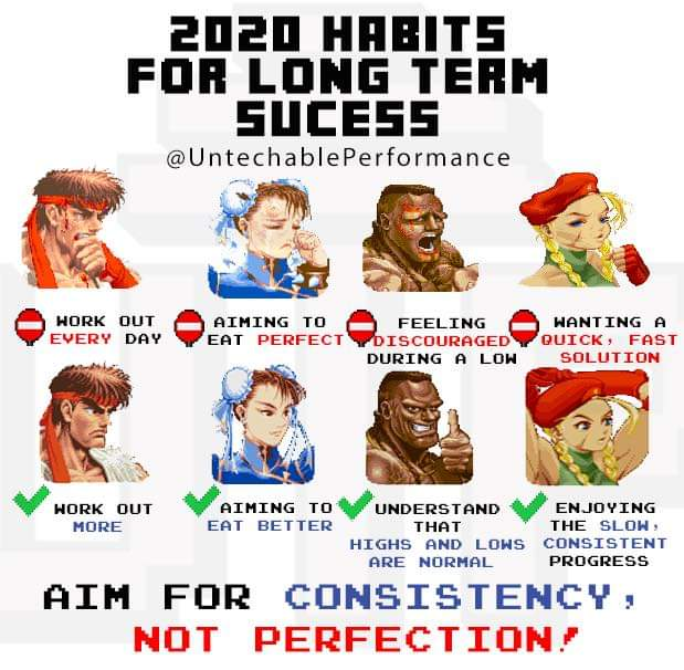 [Image] Aim for progress, not perfection