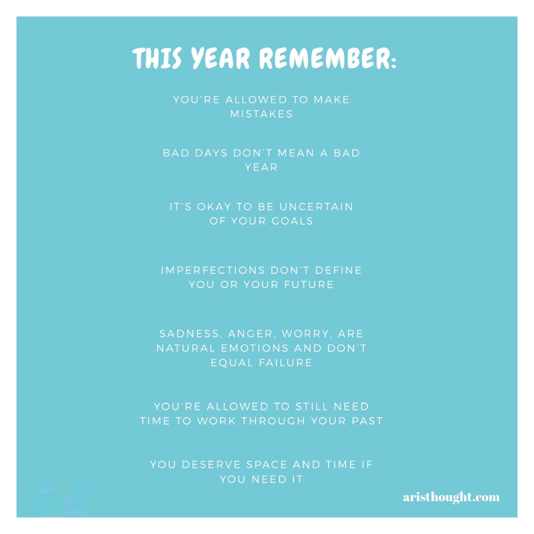 [Image] This year remember:
