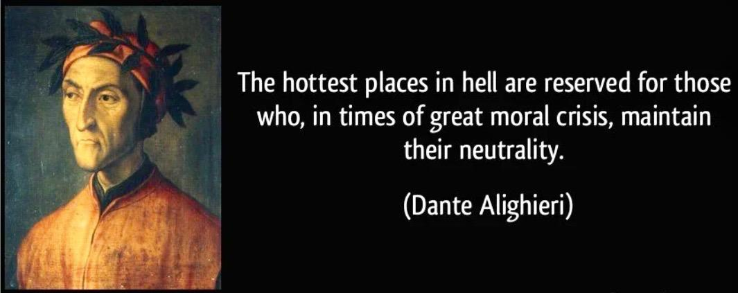 """The hottest places in hell…"" – Dante {1065×423}"
