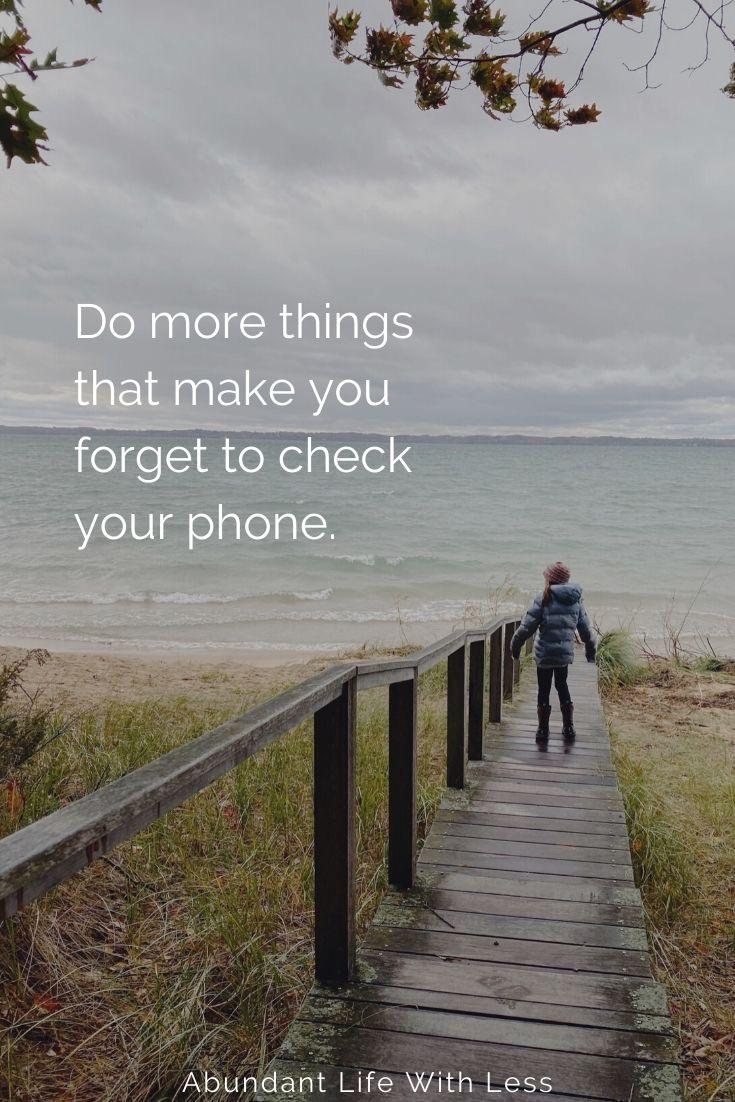 [image] What activities help you forget about your phone?