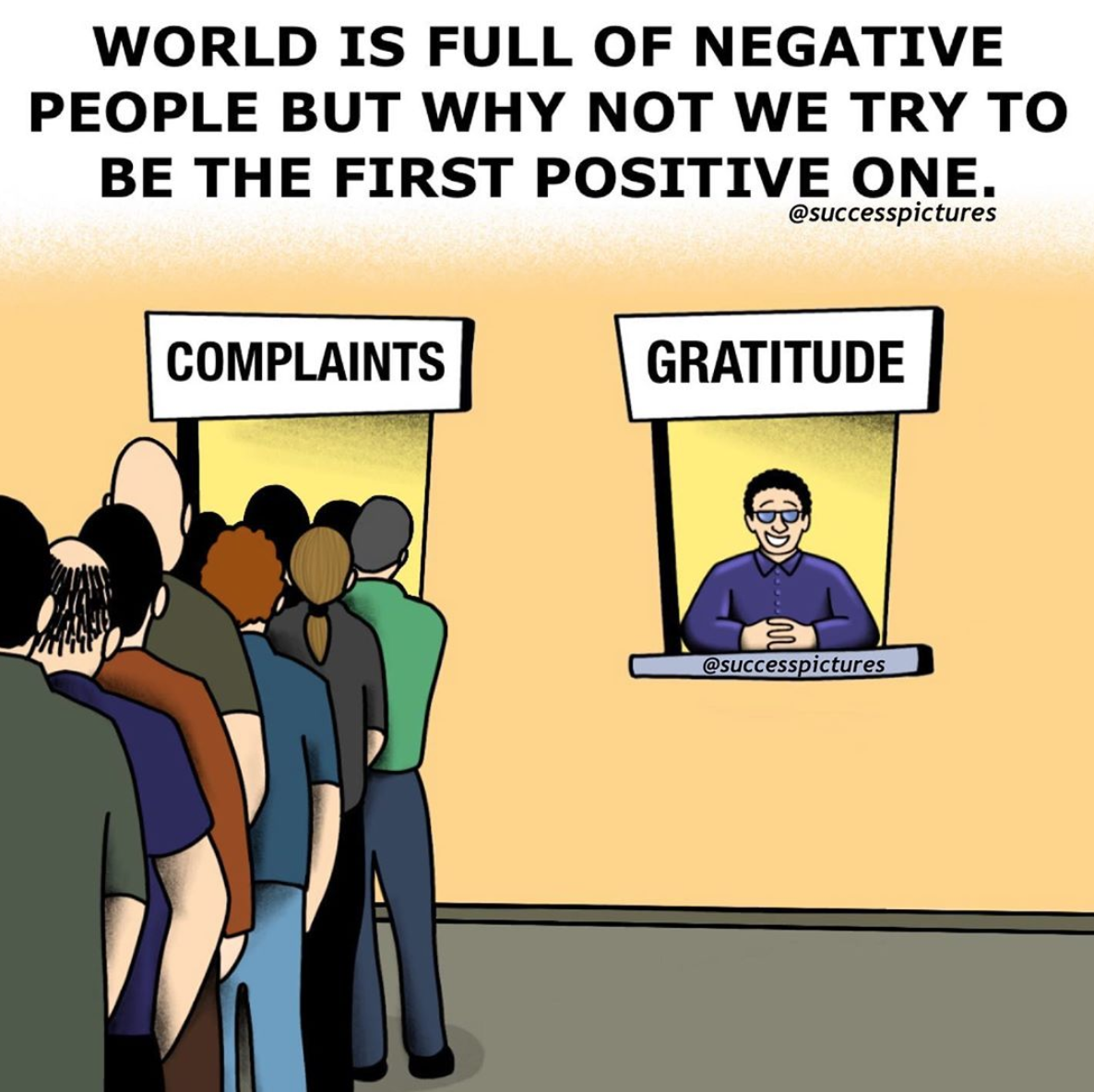 [Image] Stop complaining constantly and adopt an attitude of gratitude