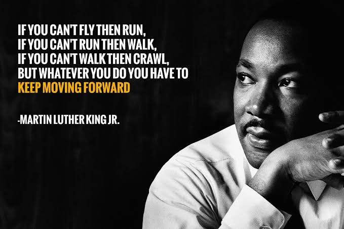 [Image] If you can't walk then crawl