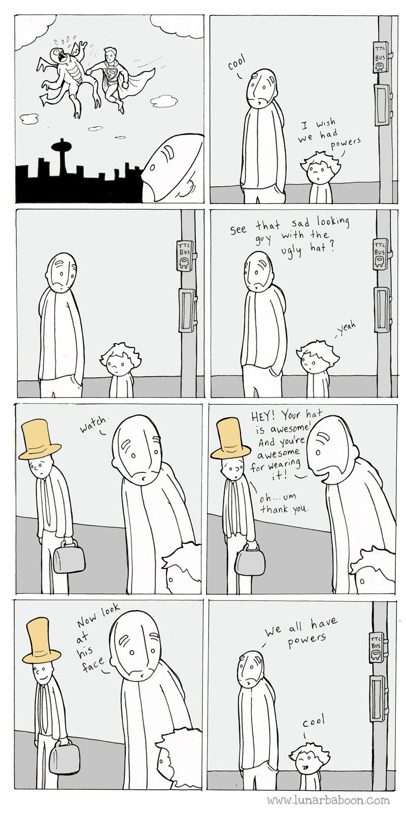 [Image] We All Have Powers