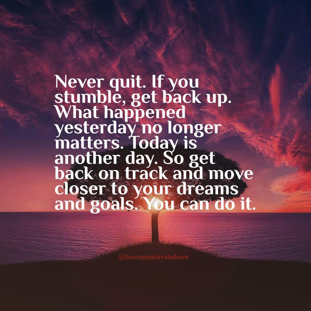 [Image] Never quit!