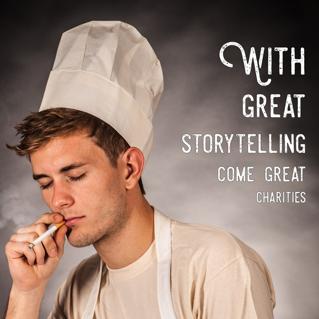 With a great storytelling come a great charities [650×650]