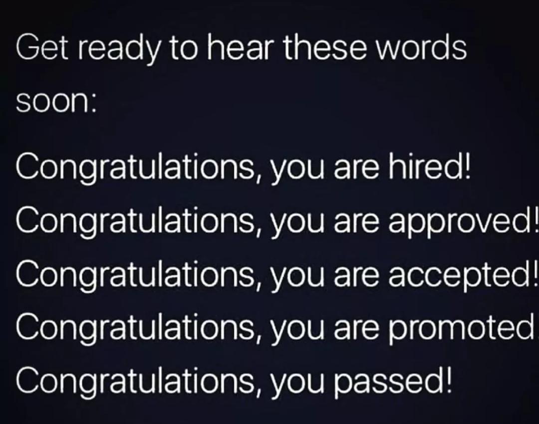 [Image] Congratulation!!