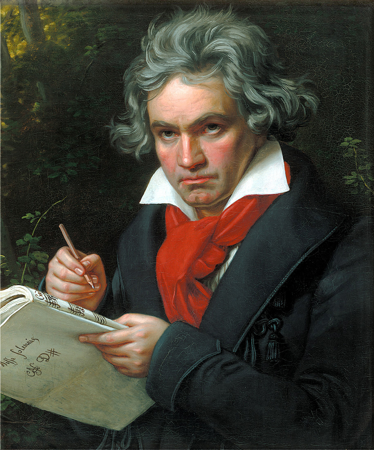 [Image]Remember that this musical genius created his greatest symphony when he was deaf..Beethoven