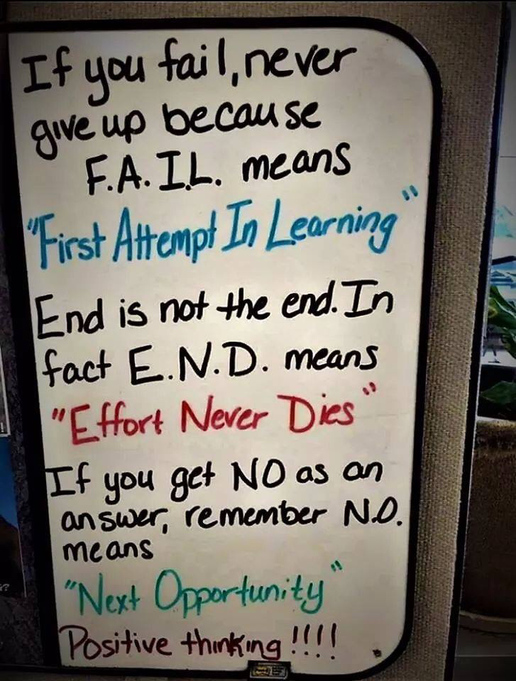 [Image] You will succeed,Just Keep trying