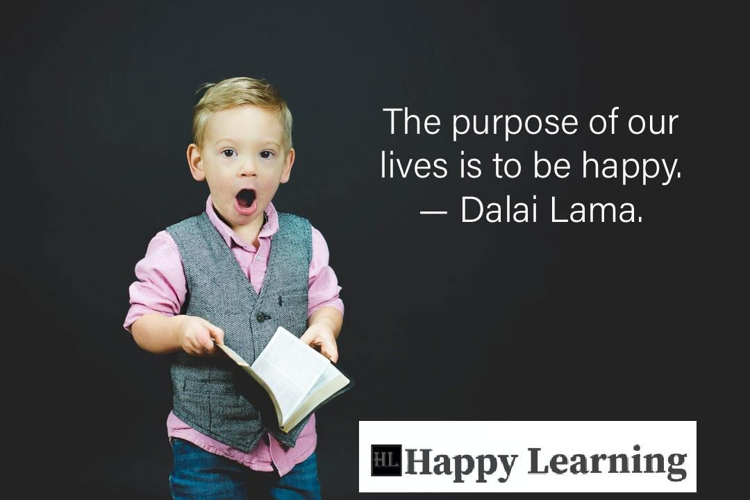 The Purpose of our lives is to be happy. [1080×721]