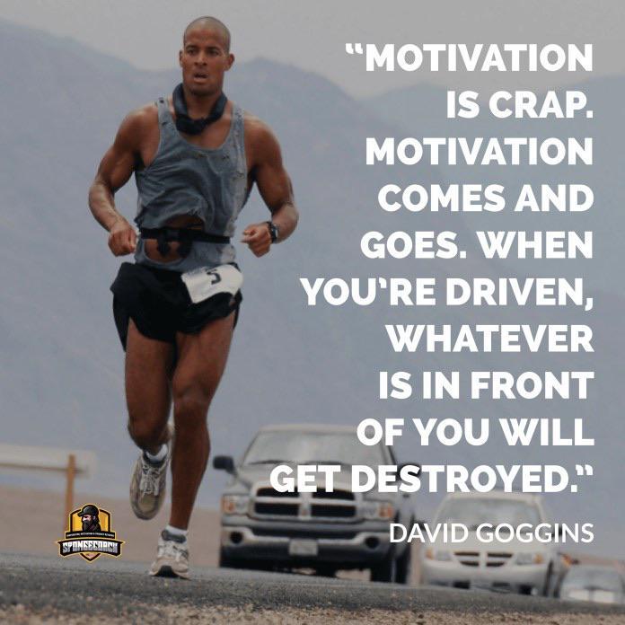 [image] Goggins on motivation