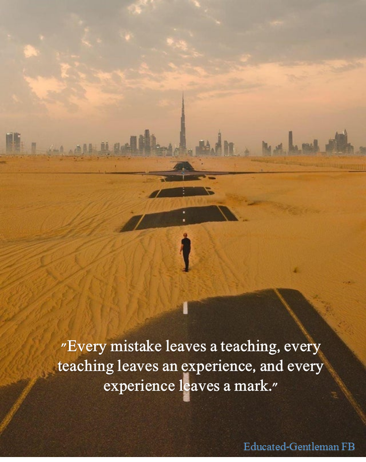 [Image] A good teacher for the life of any person who wishes to improve himself.